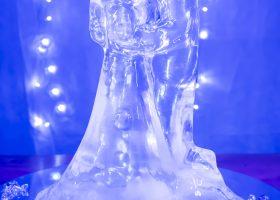 Ledena figura - plavi mladenci